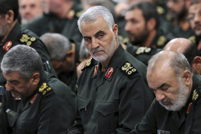 Veliteľ revolučnej gardy sľubuje, že pôjde po Američanoch, ktorí zabili Solejmáního
