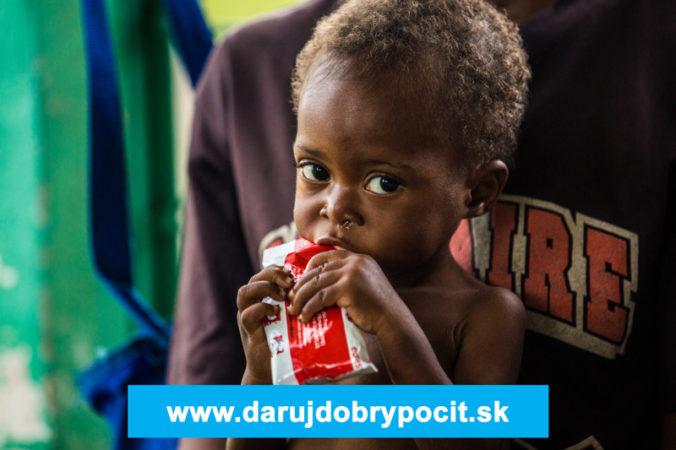 3 milióny detí zomrú ročne na podvýživu, 3 € to môžu zmeniť
