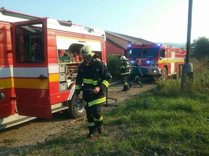 Požiar areálu sladovne Sessler v Trnave si vyžiadal zásah hasičov, horí novopostavená časť objektu