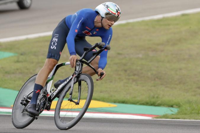 Majstrom sveta v časovke cyklistov sa stal Talian Filippo Ganna, Slovák Cully zaostal