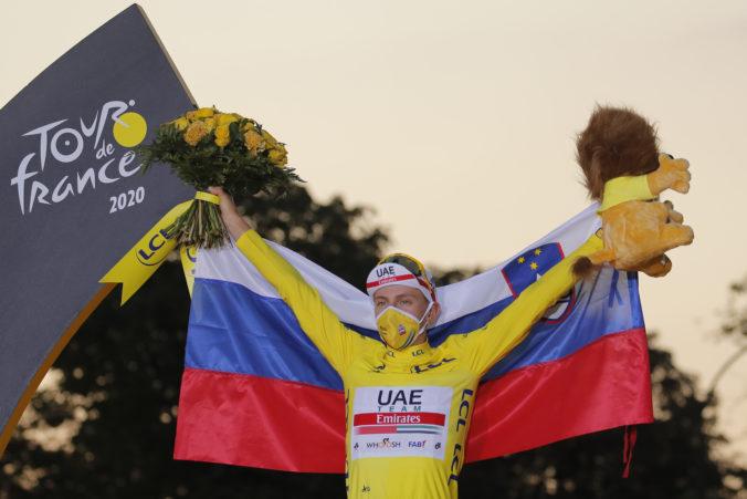 Pogačar vydražil svoj víťazný dres z Tour de France 2020, za desiatky tisíc eur ho kúpil podnikateľ