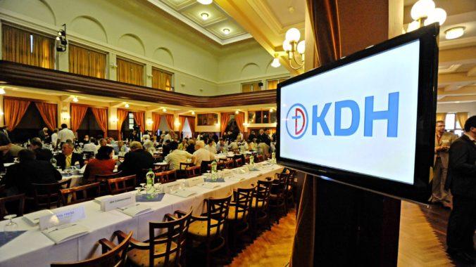 Predsedníctvo KDH je kompletné, rada ho doplnila o Belinského a Bobulu
