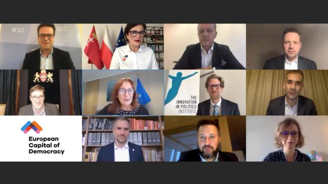 Demokracia vracia úder: Primátori z celej Európy zahájili iniciatívu Európske hlavné mesto demokracie