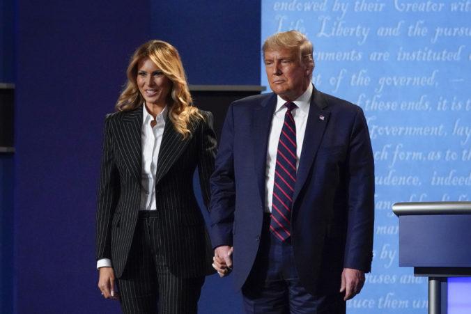 Donald Trump s manželkou majú mierny priebeh koronavírusu, vyslovili optimizmus v súvislosti s rýchlym zotavením