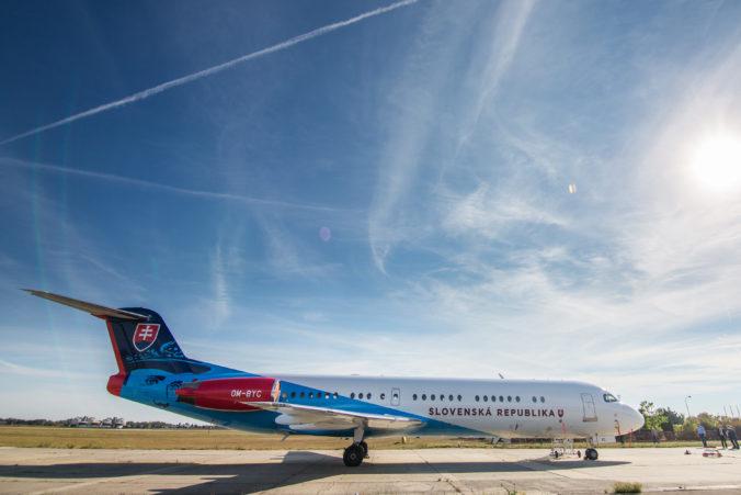 Údržba vládnych Fokkerov má ministerstvo vnútra vyjsť na viac než štyri milióny eur