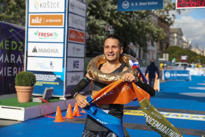 Medzinárodný maratón mieru v Košiciach má po 21 rokoch víťaza zo Slovenska (foto)