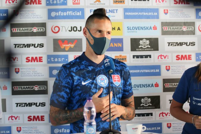 Som kapitán, ale nie spasiteľ, hovorí Hamšík pred dôležitým zápasom proti Írsku