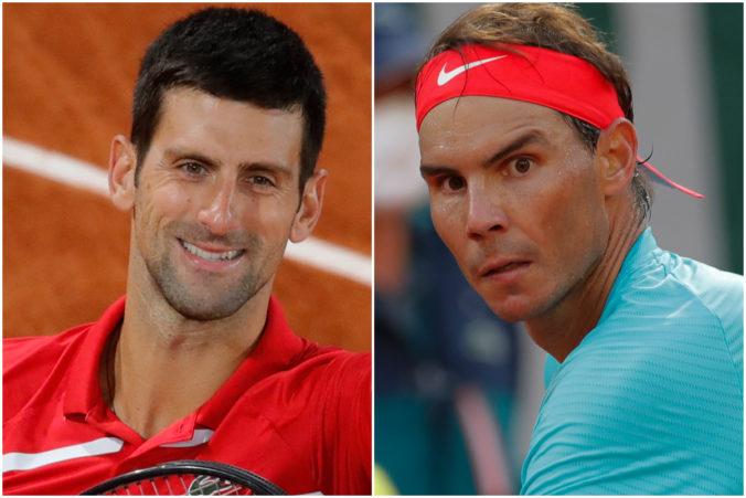 Vo finále mužskej dvojhry na Roland Garros sa stretne Novak Djokovič a Rafael Nadal