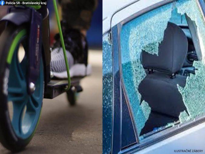 V Bratislave sa zlodej ulakomil na rýchlotesty na COVID-19, ďalší na kolobežke ukradol žene kabelku
