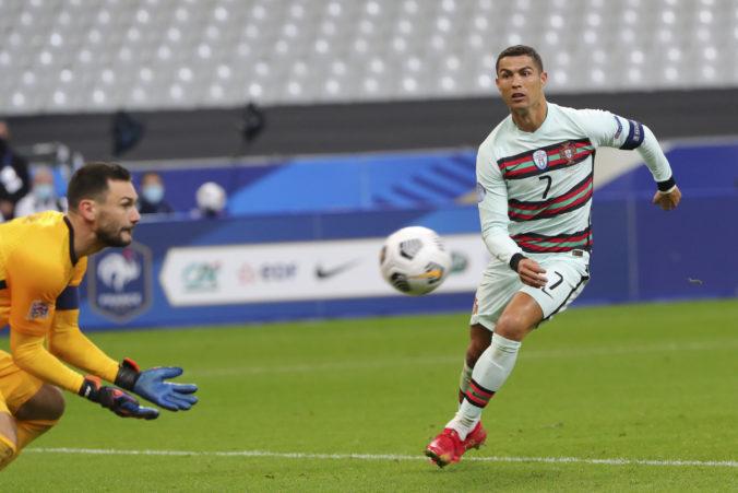 Cristiano Ronaldo bude chýbať Portugalsku v zápase Ligy národov, nakazil sa koronavírusom