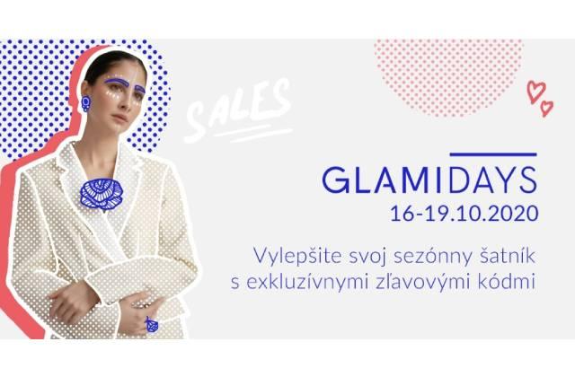 GLAMIDAYS už po štvrtýkrát prinášajú na GLAMI.sk exkluzívny víkend plný zliav!