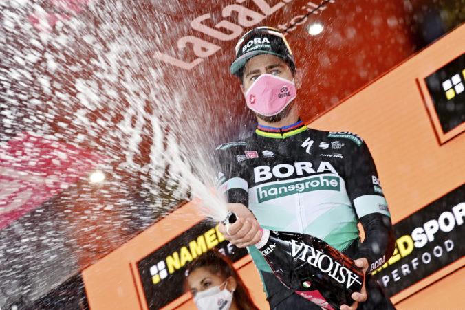 Predvádzal som šou! Šťastný Sagan venoval etapové víťazstvo na Gire fanúšikom a svojmu tímu