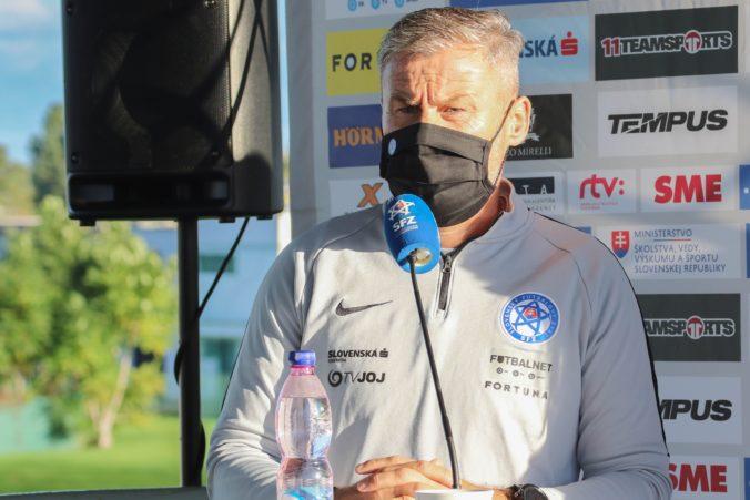 Tréner Hapal mal pozitívny test na koronavírus, Slovensko proti Izraelu povedie Brunegraf