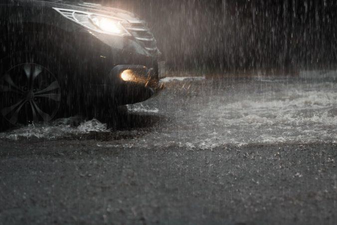 Voda z dažďov ohrozuje obec Hranovnica, starosta vyhlásil 3. stupeň povodňovej aktivity