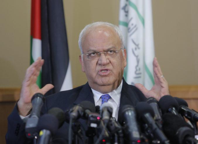 Hlavný palestínsky vyjednávač Sáib Irikát je po ochorení na COVID-19 v kritickom stave