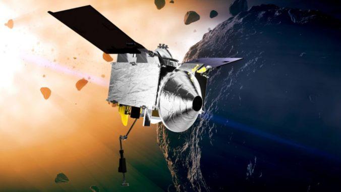 Sonda Osiris-Rex absolvovala náročný manéver, mala získať vzorky z asteroidu Bennu