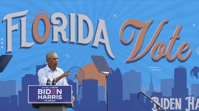 Biden chce ukoristiť republikánsku Georgiu, s Floridou sa mu snaží pomôcť exprezident Obama