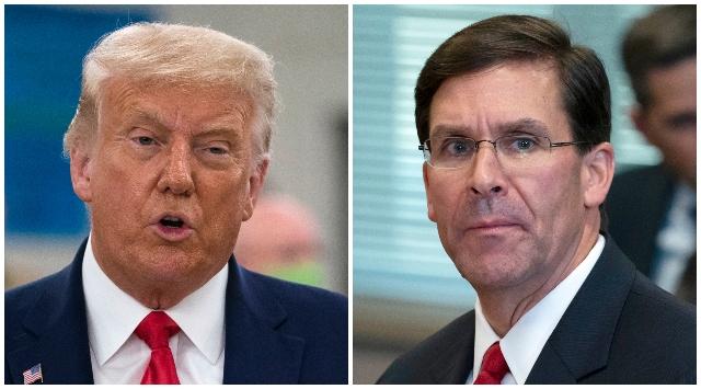 Trump odvolal ministra obrany Espera, napätie medzi nimi trvalo už niekoľko mesiacov
