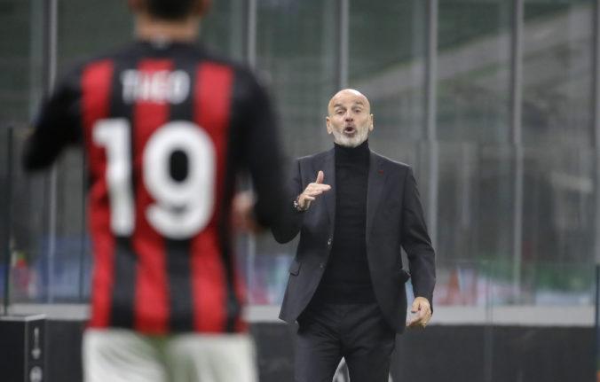 Hlavný tréner talianskeho veľkoklubu AC Miláno Stefano Pioli sa nakazil koronavírusom