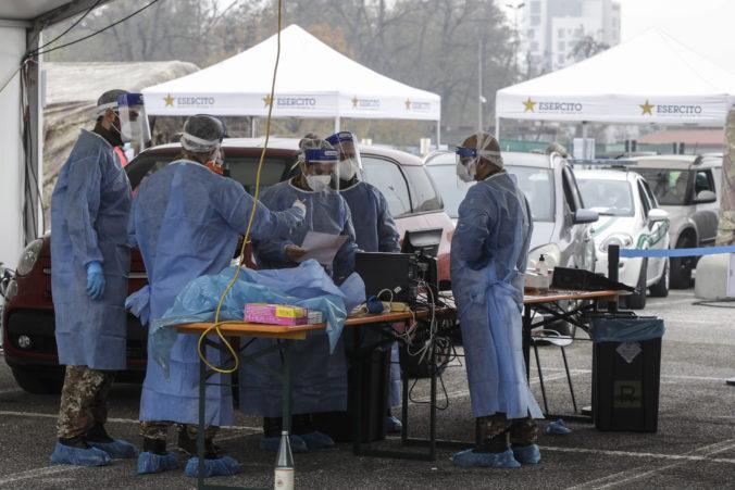 Taliansko po rekordnom prírastku nakazených nariadilo prísnu karanténu v ďalších regiónoch