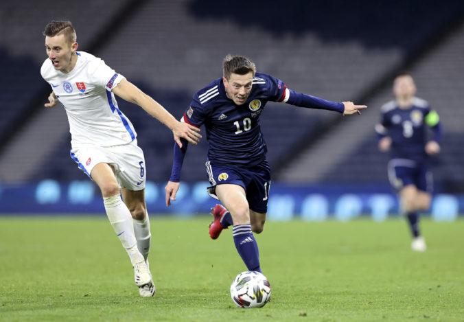 Slovensko v Lige národov zdolalo Škótsko, prvým víťazstvom si udržalo šancu na záchranu