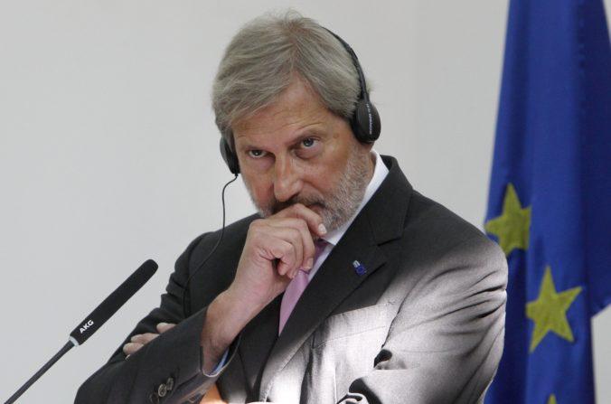 Eurokomisár Johannes Hahn pre rozpočet apeluje na zodpovednosť členských štátov