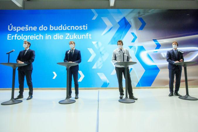 Ohlásená megainvestícia v bratislavskom Volkswagene prinesie 2000 nových pracovných miest