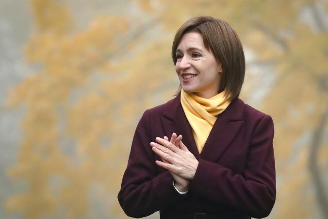 Prezidentské voľby v Moldavsku vyhrala prozápadná kandidátka Maia Sanduová