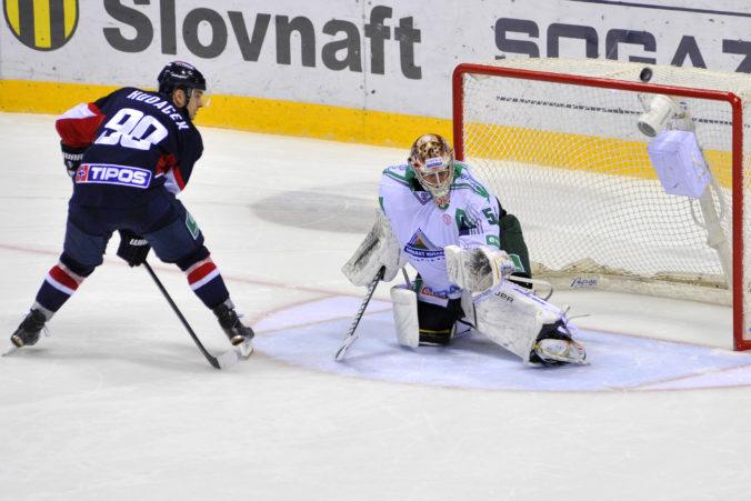 Štvorgólový Libor Hudáček sa stal najlepším útočníkom týždňa v KHL