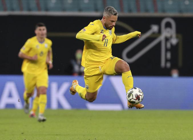 Ukrajinskí futbalisti skončili v karanténe a zrejme zostúpia do B-divízie Ligy národov