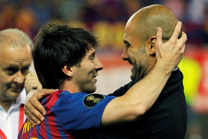 Messi by mal kariéru uzavrieť v FC Barcelona, kouč Guardiola popiera jeho prestup do ManCity
