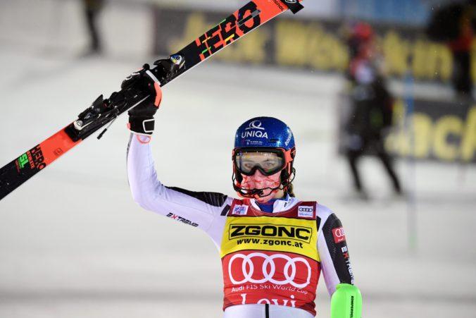 Petra Vlhová bola po víťazstve na seba kritická. Dobré jazdy, ale nie perfektné (video)