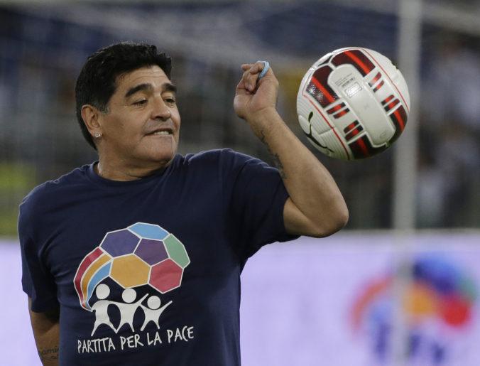 Božský Maradona už pred 15 rokmi vedel, čo by si dal raz vyryť na náhrobný kameň
