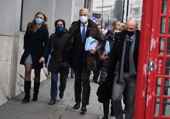 Hlavní vyjednávači Únie a Británie obnovili v Londýne osobné rokovania o obchodnej dohode