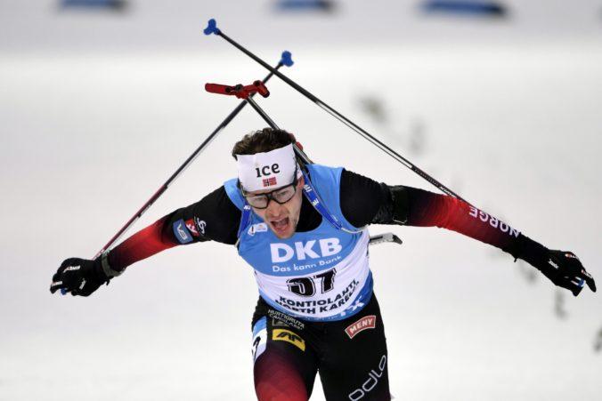 Úvod sezóny biatlonistov patril Nórovi Laegreidovi a Talianke Wiererovej, Slováci nebodovali