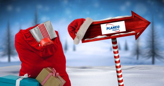 Bohatá vianočná nádielka v PLANEO Elektro: Nakúpte a ste v hre o 1 000 darčekov