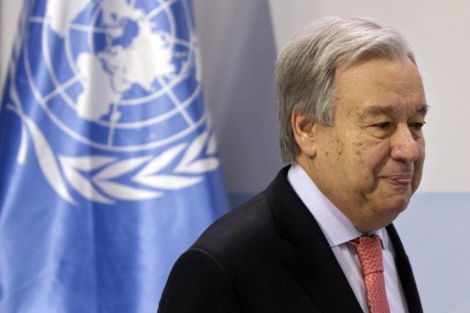"""António Guterres vyzýva k podniknutiu krokov na ukončenie """"vojny proti prírode"""""""