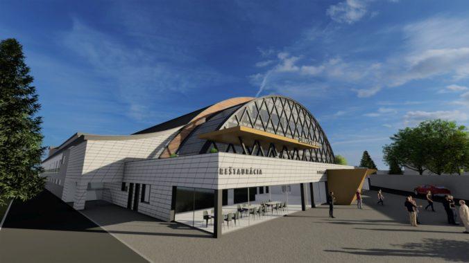 Zimný štadión v Banskej Bystrici sa dočká rekonštrukcie, do prestavby investujú milióny eur (foto)