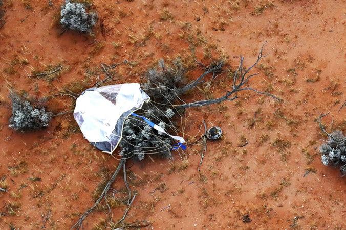 Kapsula z japonskej sondy Hajabusa 2 úspešne pristála v Austrálii, priviezla vzorky asteroidu