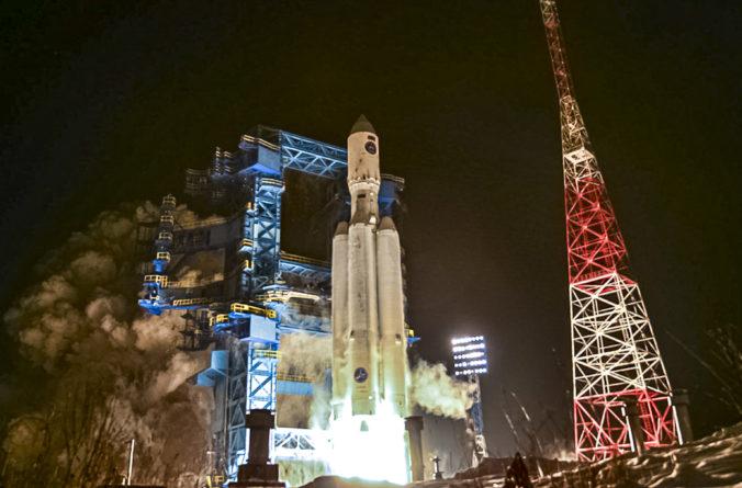 Rusko druhý raz úspešne vypustilo ťažkú vesmírnu raketu novej generácie Angara A5