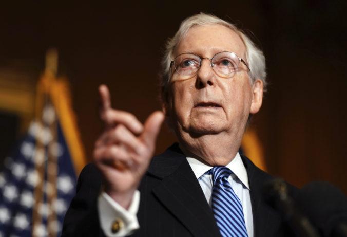 Líder republikánov McConnell po prvý raz uznal zvolenie Bidena za prezidenta