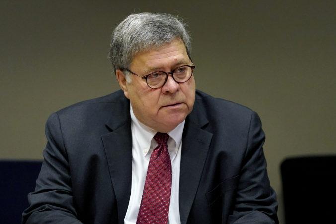 Americký minister spravodlivosti William Barr odstupuje z funkcie, súvisí to aj s napätím medzi ním a Trumpom