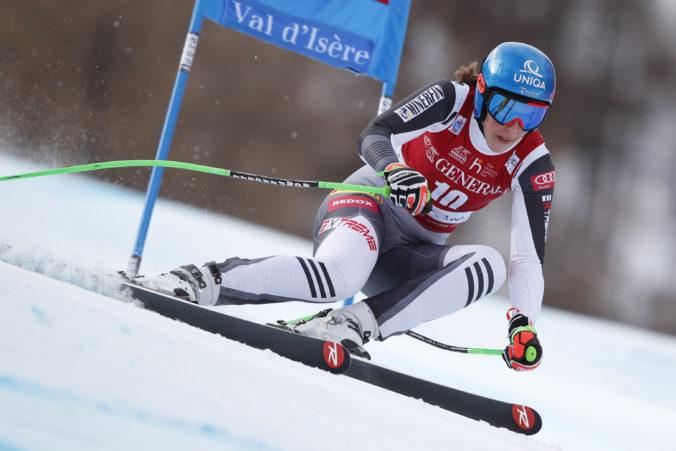 Vlhová po slabších výkonoch v zjazde potvrdila v super G zlepšenie na dlhých lyžiach