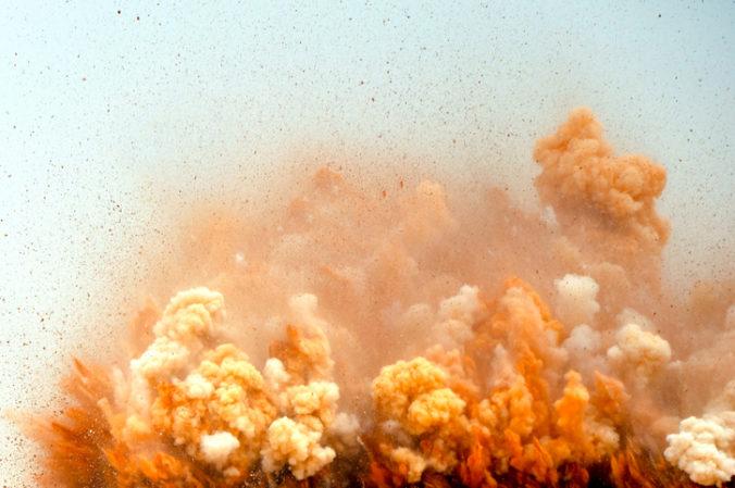 Talianskou továrňou na pušný prach otriasol silný výbuch, zahynuli traja ľudia