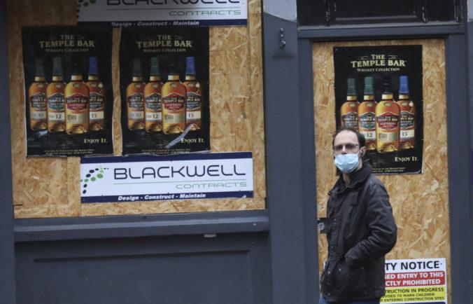 Írsko sa obáva nového kmeňa koronavírusu z Británie, zavádza prísnejšie opatrenia