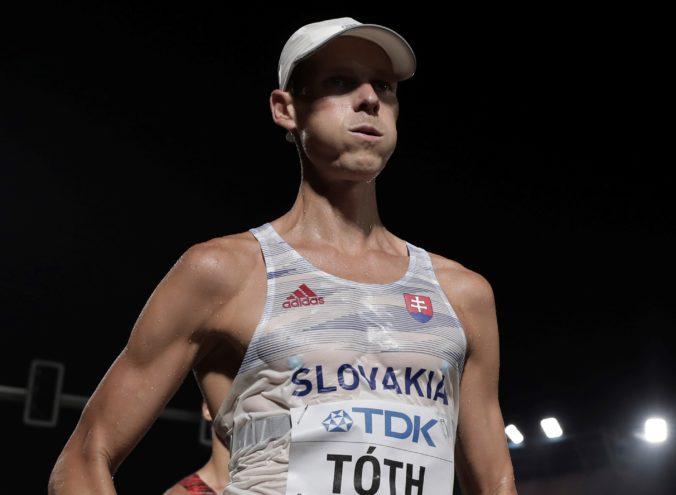 Matej Tóth je najlepším chodcom na 50 km za rok 2020, zhodli sa dva atletické časopisy