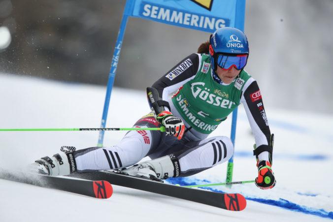 Fantastická Vlhová ovládla prvé kolo obrovského slalomu v rakúskom Semmeringu