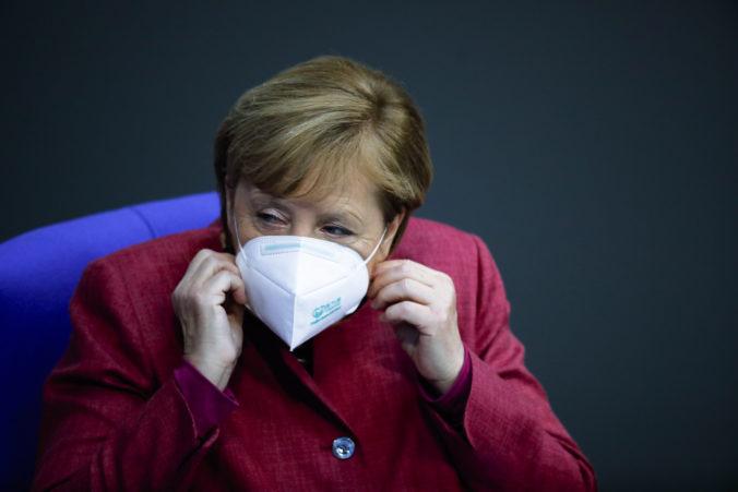 Merkelová je vďačná ľuďom za disciplínu, vyzýva na jej zachovanie aj počas roku 2021
