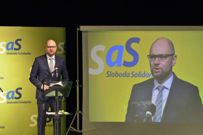 Strana SaS nepodporí Holého novelu zákona o verejnom obstarávaní
