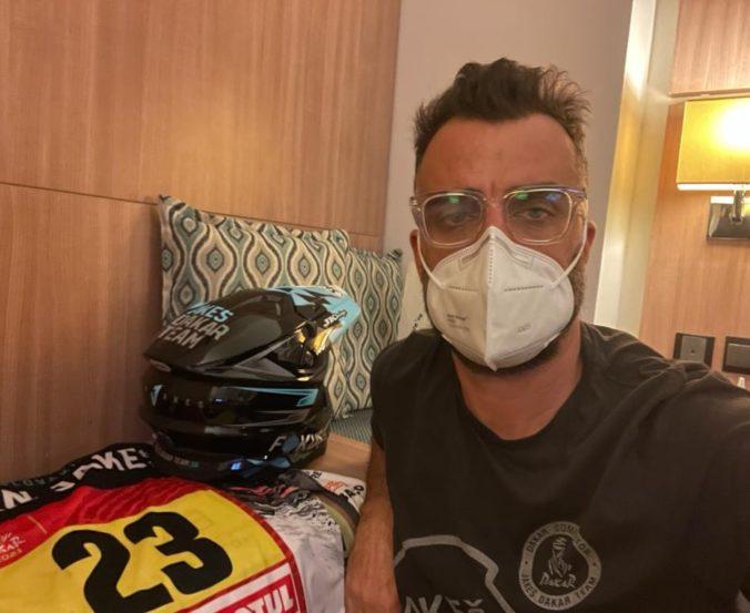 Jakeš sa na Rely Dakar nepredstaví, v Saudskej Arábie bol pozitívne testovaný na koronavírus